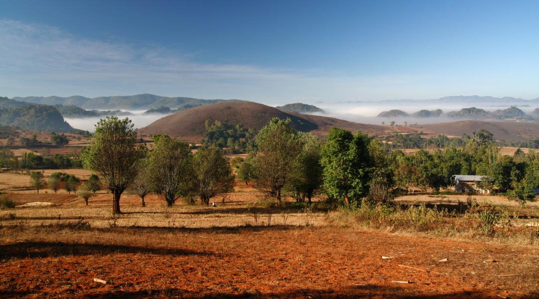 Kalaw Myanmar  City pictures : Willkommen in Myanmar: Trekking from Kalaw to Inle Lak